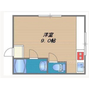 1R Mansion in Kamiji - Osaka-shi Higashinari-ku Floorplan