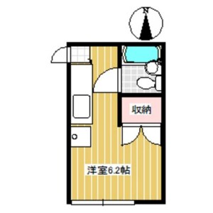 1R Apartment in Sasazuka - Shibuya-ku Floorplan
