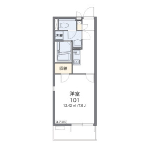 1K Mansion in Kanshuji higashikitadecho - Kyoto-shi Yamashina-ku Floorplan