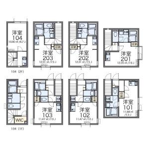 1R Apartment in Kamiikebukuro - Toshima-ku Floorplan