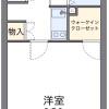 1K アパート 平塚市 間取り