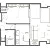 2DK Apartment to Rent in Taito-ku Floorplan
