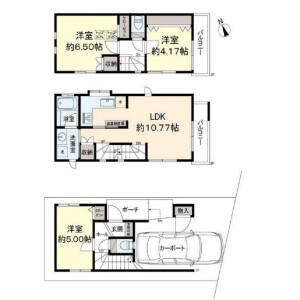 2SLDK {building type} in Nishishinagawa - Shinagawa-ku Floorplan