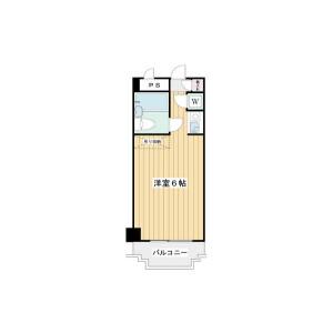 1R Mansion in Tamagawa - Setagaya-ku Floorplan