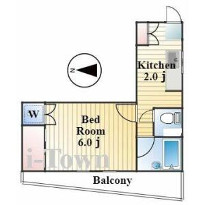 1K Apartment in Arakawa - Arakawa-ku Floorplan
