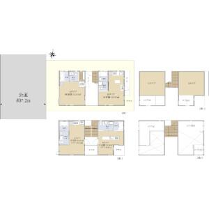 Whole Building {building type} in Denenchofu - Ota-ku Floorplan