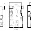 在豊岛区购买3LDK 独栋住宅的 楼层布局