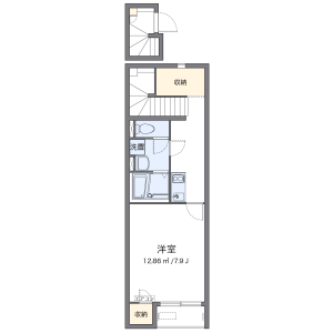 1K Apartment in Nakazato - Kita-ku Floorplan