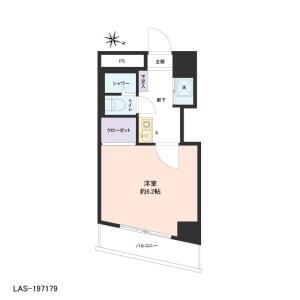 1K {building type} in Mukojima - Sumida-ku Floorplan