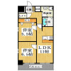 2LDK Apartment to Rent in Osaka-shi Chuo-ku Floorplan