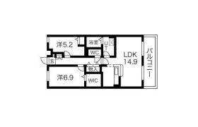 2LDK Mansion in Amazukacho - Nagoya-shi Nishi-ku