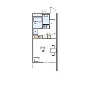 1K Mansion in Hibarigaoka - Zama-shi Floorplan
