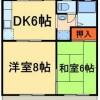 3DK Apartment to Rent in Nagareyama-shi Floorplan