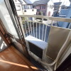 1K Apartment to Rent in Yachimata-shi Balcony / Veranda