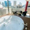 1LDK Serviced Apartment to Rent in Osaka-shi Fukushima-ku Balcony / Veranda