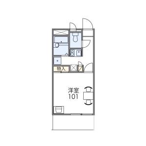 1K Mansion in Mitsuyakita - Osaka-shi Yodogawa-ku Floorplan