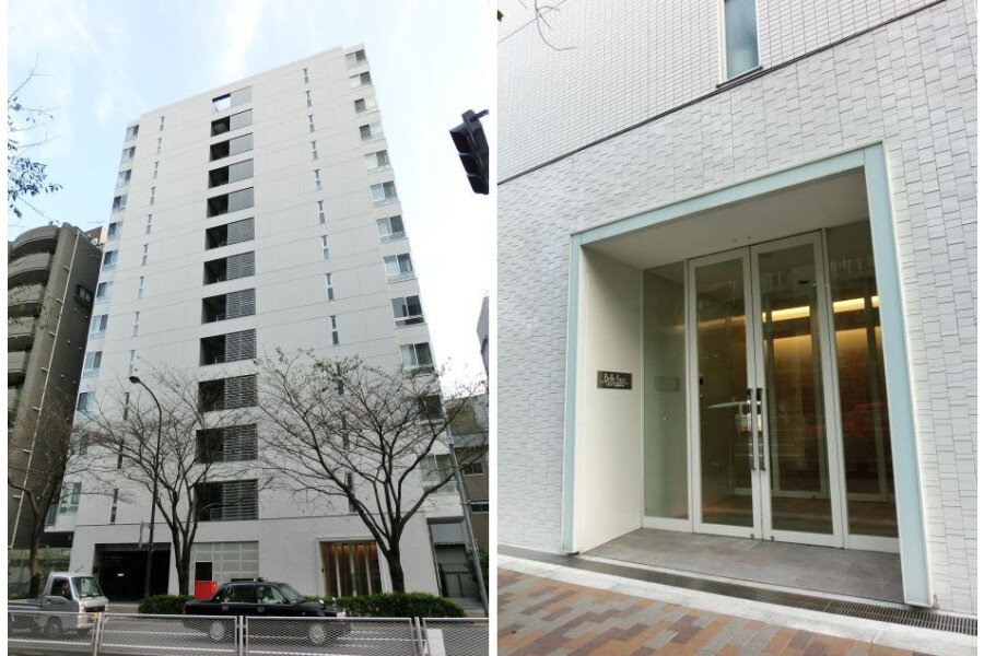 1R 맨션 to Rent in Shibuya-ku Exterior
