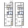 1K Apartment to Rent in Kodama-gun Kamikawa-machi Floorplan