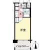 1K Apartment to Buy in Higashiosaka-shi Floorplan