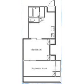 2DK Apartment in Higashinippori - Arakawa-ku Floorplan