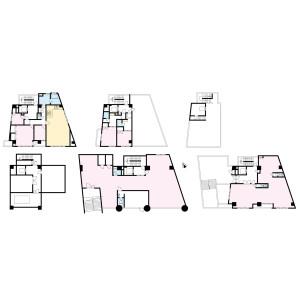 Whole Building {building type} in Ikebukurohoncho - Toshima-ku Floorplan