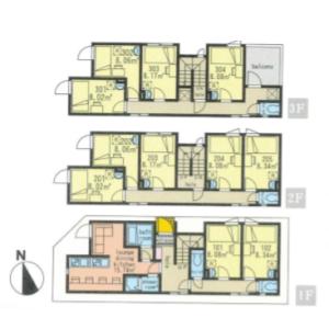 Whole Building {building type} in Yotsugi - Katsushika-ku Floorplan