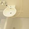 1K Apartment to Rent in Kyoto-shi Minami-ku Washroom