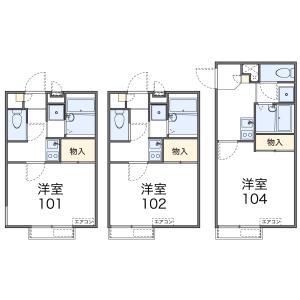1K Apartment in Hachimancho - Yokohama-shi Minami-ku Floorplan
