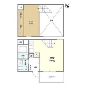 1R Mansion in Seta - Setagaya-ku Floorplan