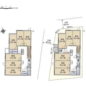 Whole Building {building type} in Nerima - Nerima-ku Floorplan