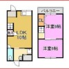 2LDK House to Buy in Osaka-shi Nishinari-ku Floorplan