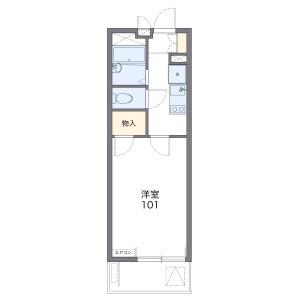 1K Mansion in Kitabukurocho - Saitama-shi Omiya-ku Floorplan