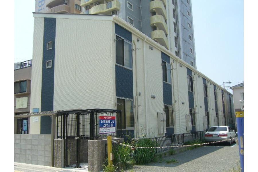 在福岡市博多区内租赁1K 公寓 的 户外