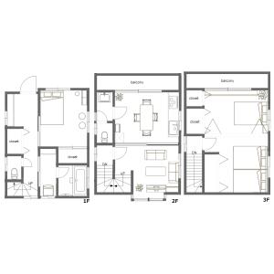 2LDK House in Niihori - Edogawa-ku Floorplan