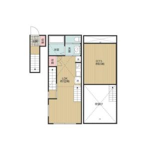 1LDK Apartment in Denenchofu honcho - Ota-ku Floorplan