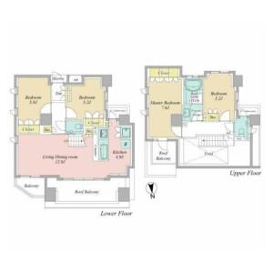 4LDK {building type} in Shirasagi - Nakano-ku Floorplan