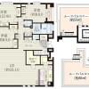 在澀谷區內租賃3LDK 公寓大廈 的房產 房間格局