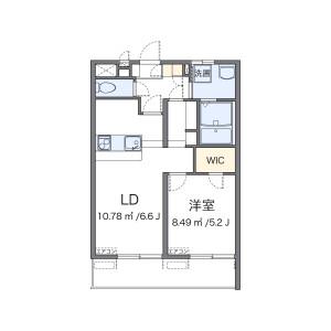 1K Mansion in Futaba - Shinagawa-ku Floorplan