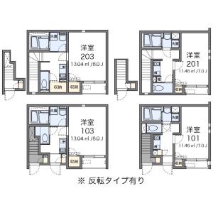 1K Apartment in Naganumamachi - Hachioji-shi Floorplan