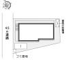 1K Apartment to Rent in Saitama-shi Omiya-ku Layout Drawing