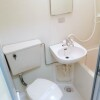 1K Apartment to Buy in Hachioji-shi Toilet