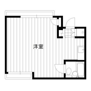 1R Mansion in Kamitsuruma - Sagamihara-shi Minami-ku Floorplan