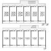 1K Apartment to Rent in Osaka-shi Hirano-ku Layout Drawing