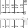 1R Apartment to Rent in Higashimatsuyama-shi Layout Drawing