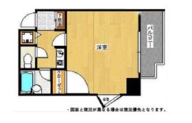 1K {building type} in Shinwamachi - Fukuoka-shi Hakata-ku