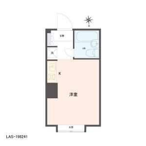 1R {building type} in Nogata - Nakano-ku Floorplan