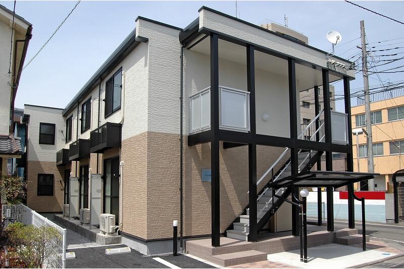 在相模原市中央区内租赁1K 公寓 的 户外