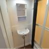 1K Apartment to Rent in Kobe-shi Chuo-ku Washroom