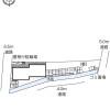 1K Apartment to Rent in Himeji-shi Layout Drawing