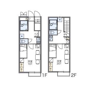 1K Apartment in Miyacho - Gamagori-shi Floorplan